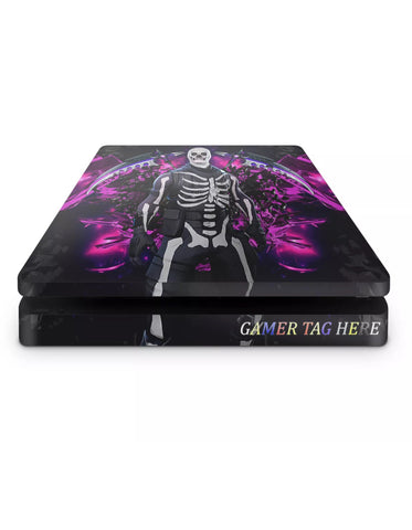 PS4 slim skin Fortnite skull trooper Design1