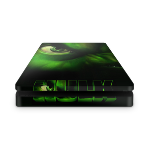 PS4 slim skin Hulk Design