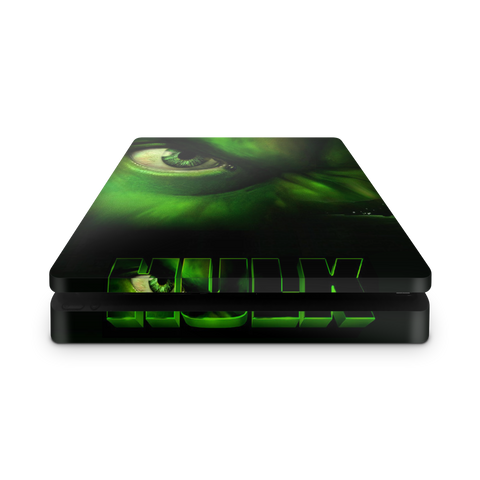 Image of PS4 slim skin Hulk Design