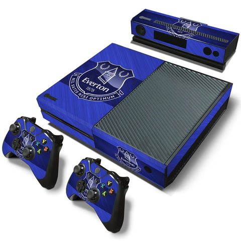 Xbox One Skin – Everton Design