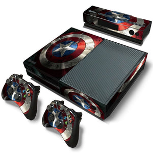 Xbox One Skin – Marvel Shield Design