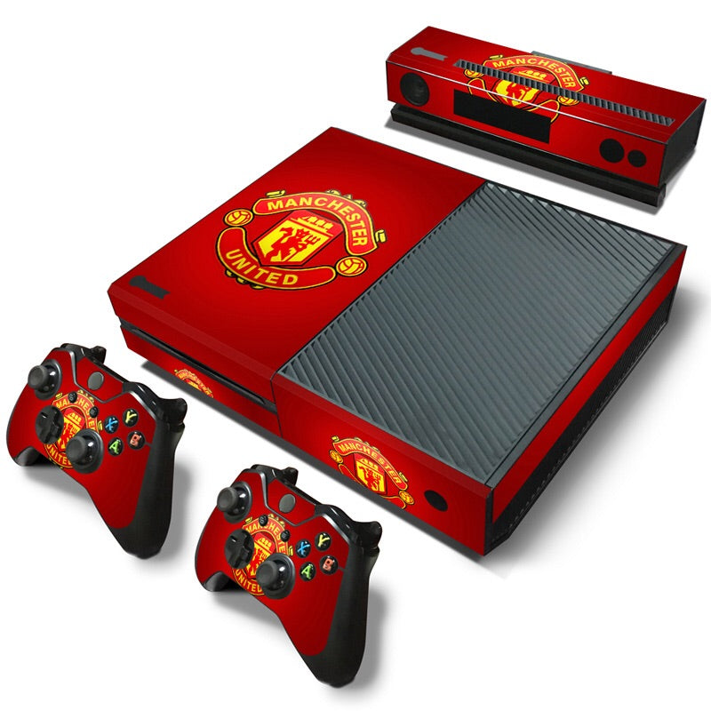 Xbox One Skin – Man U Design