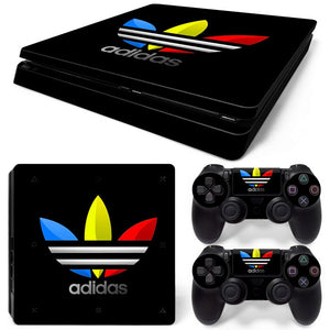 PS4 Slim Skin – Adidas Design