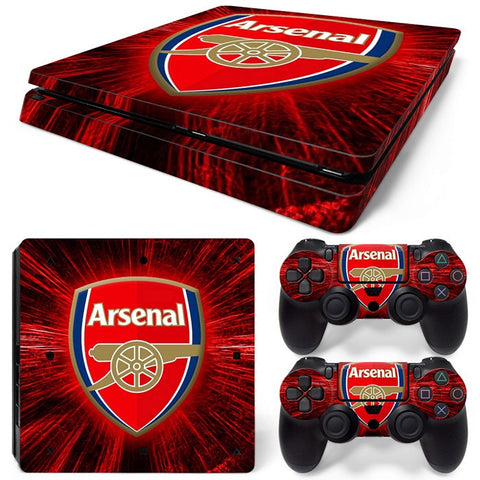 PS4 Slim Skin – Arsenal Design
