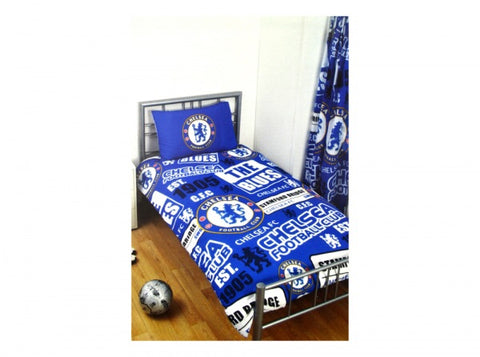 Official Chelsea single duvet set