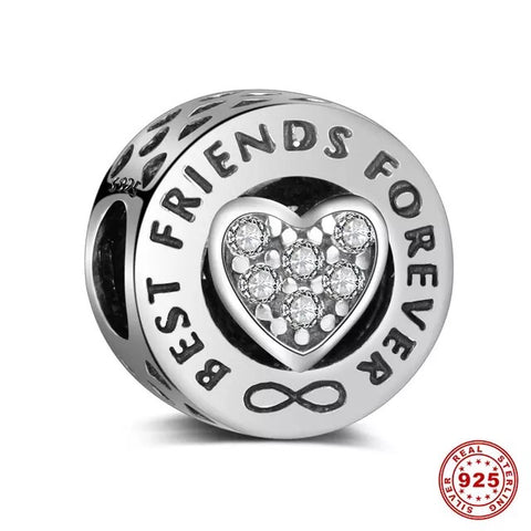 Bracelet charm - Best friends Design