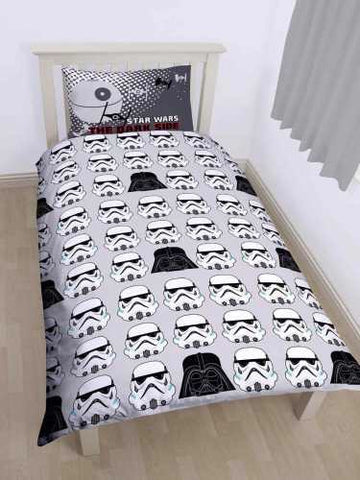 Official Lego Star Wars Villains single duvet Reversible