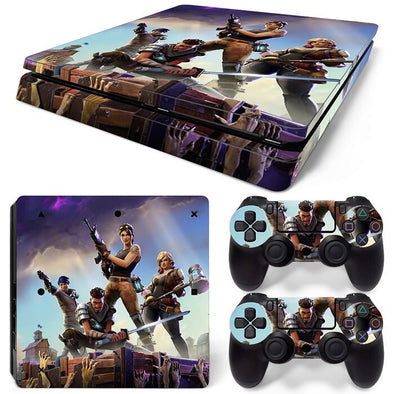 PS4 Slim Skin – Fortnite Design