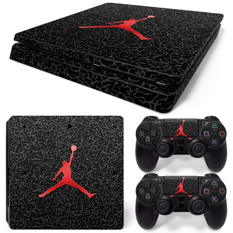 PS4 Slim Skin – Jordan Design