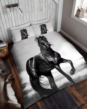 New Designs 3D Horse Double Duvet