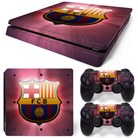 PS4 Slim Skin – Barcelona Design