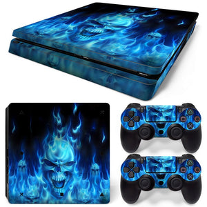 PS4 Slim Skin – Skull Design