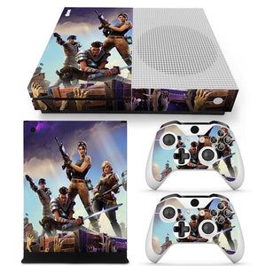 Xbox One S  Skin – Fortnight Design