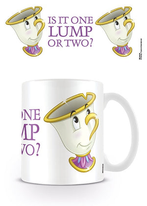 Beauty and the beast chip mug official licensed product
