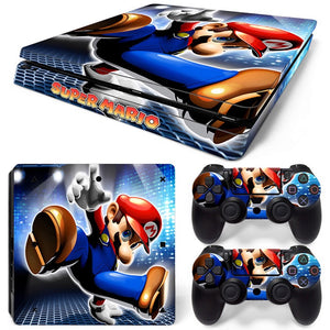 PS4 Slim Skin – Mario Design