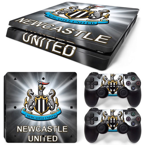 PS4 Slim Skin – Newcastle F.C. Design
