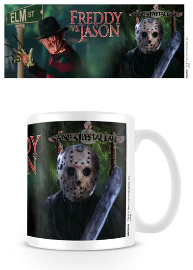 Freddy vs Jason official mug