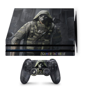 PS4 Pro Ghost Recon design