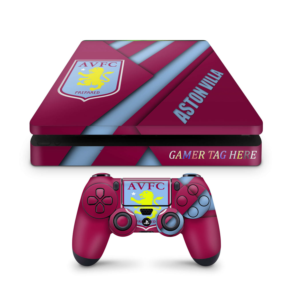 PS4 slim skin Aston Villa FC Design