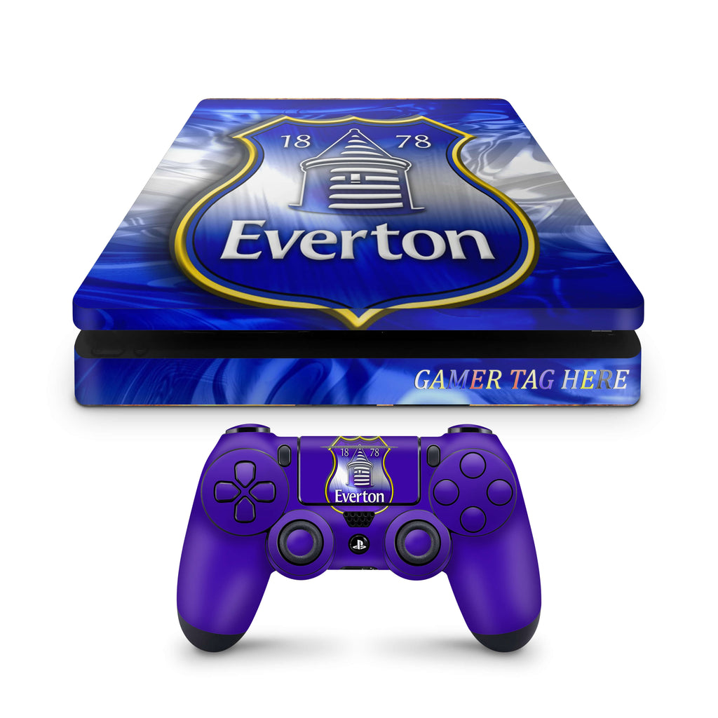 PS4 slim skin Everton  FC Design