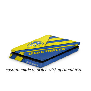 PS4 slim skin Leeds FC Design