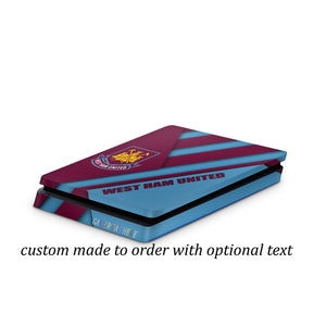PS4 slim skin West Ham  FC Design