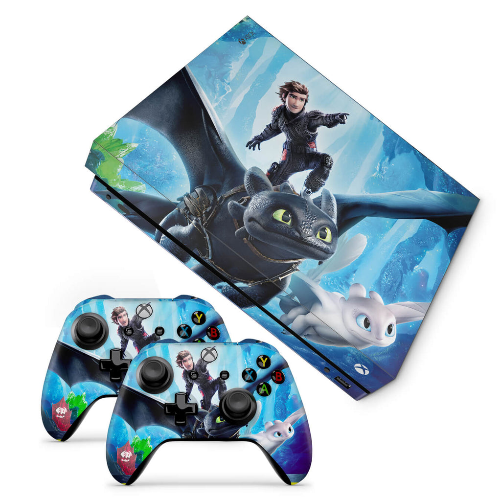 Xbox one x How to train your dragon Design 2