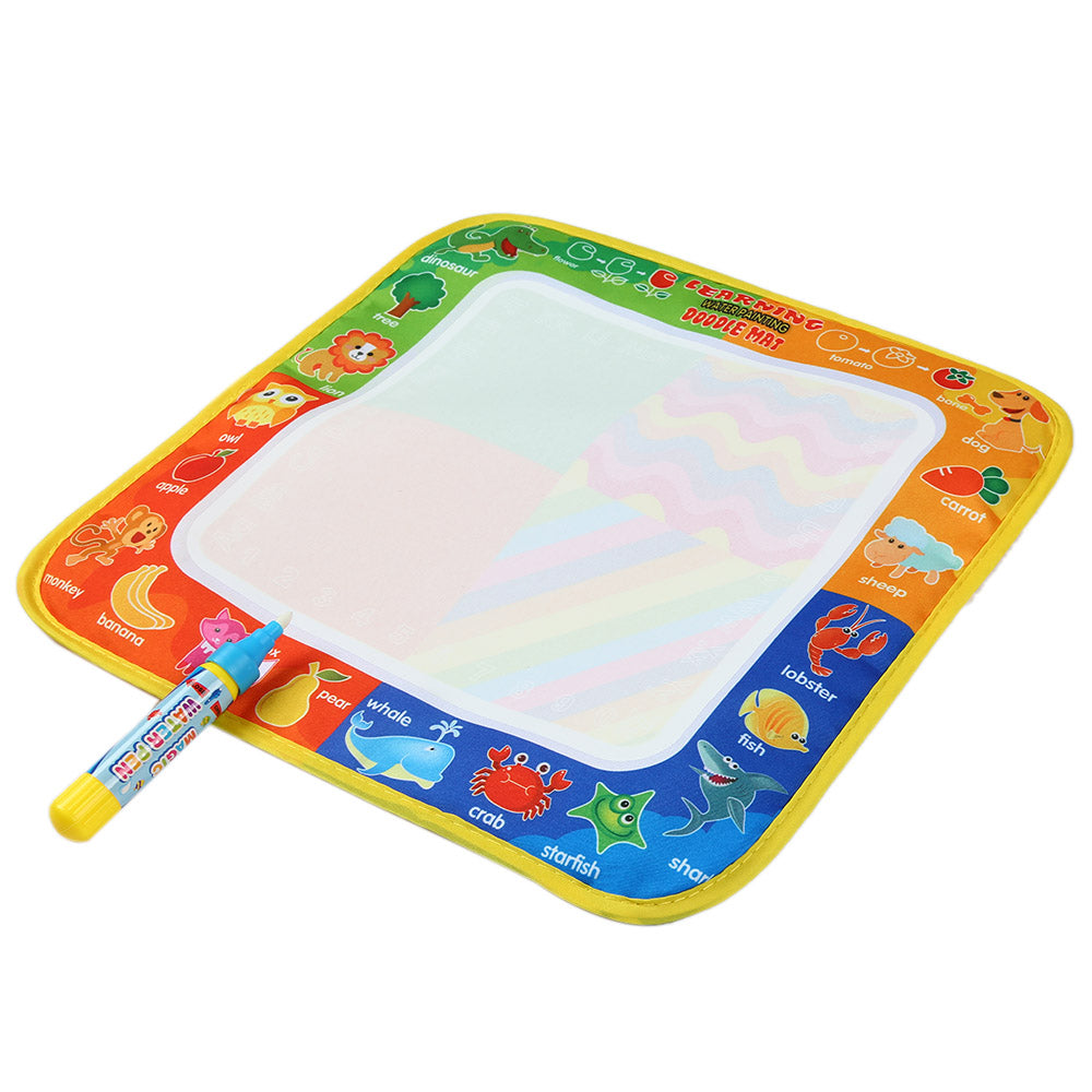 Multicolor Water Painting Drawing Mat