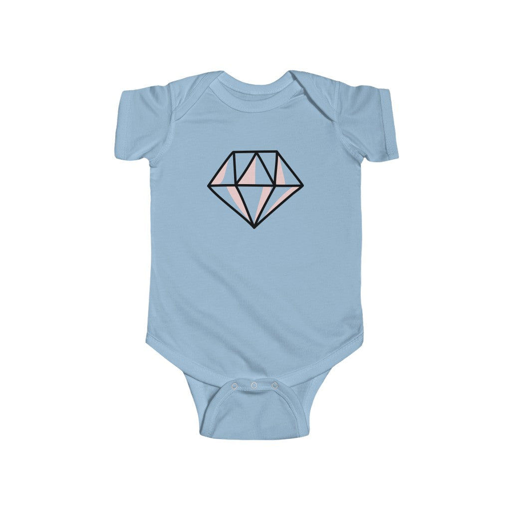 Pink Diamond Infant Fine Jersey Bodysuit