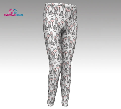 Youth Ice Cream Leggings - Mini Me