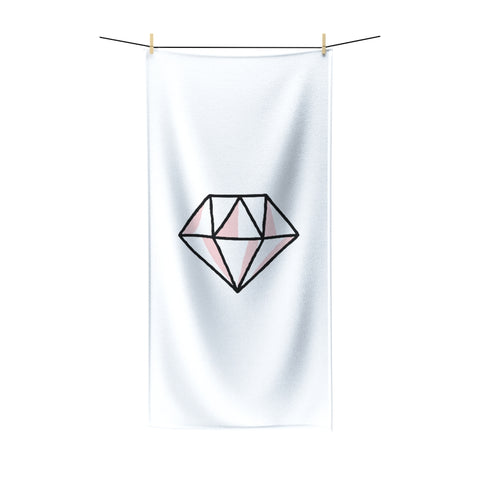Pink Diamond Polycotton Towel