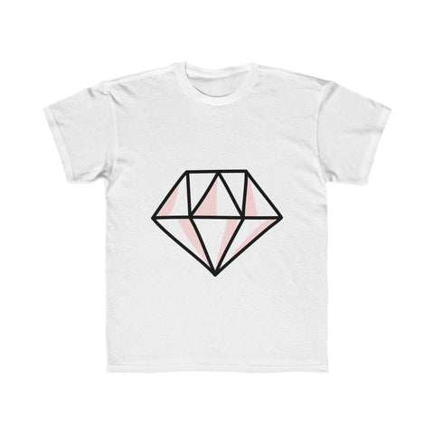 Pink Diamond Regular Fit Kids Tee