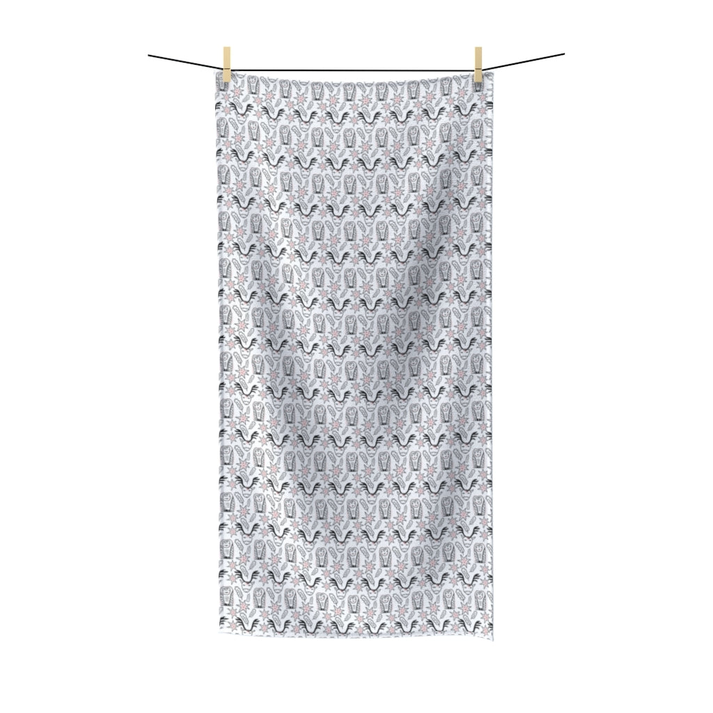 Cerf & Owl Polycotton Towel