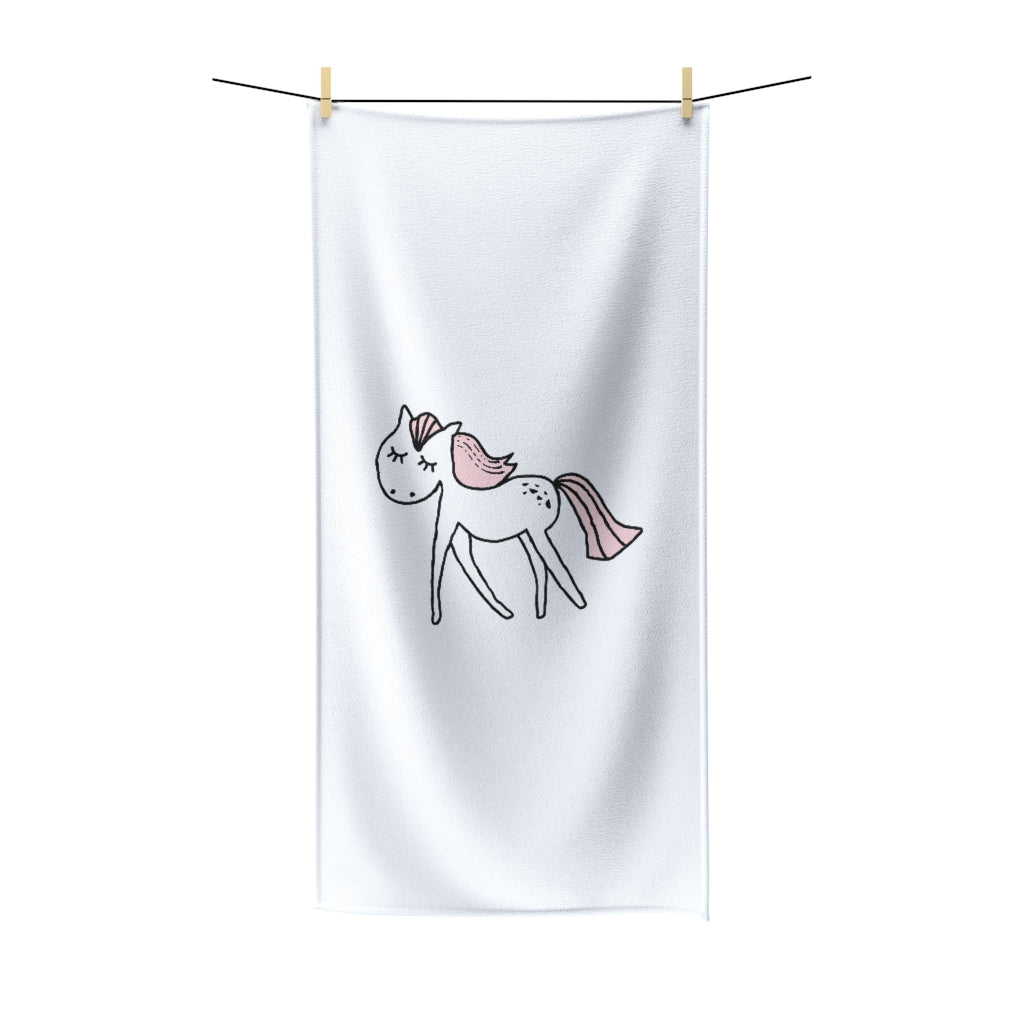 Unicorn Polycotton Towel