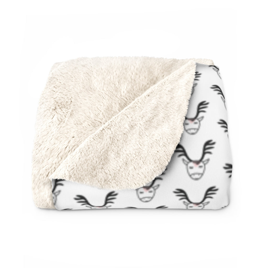Cerf Sherpa Fleece Blanket