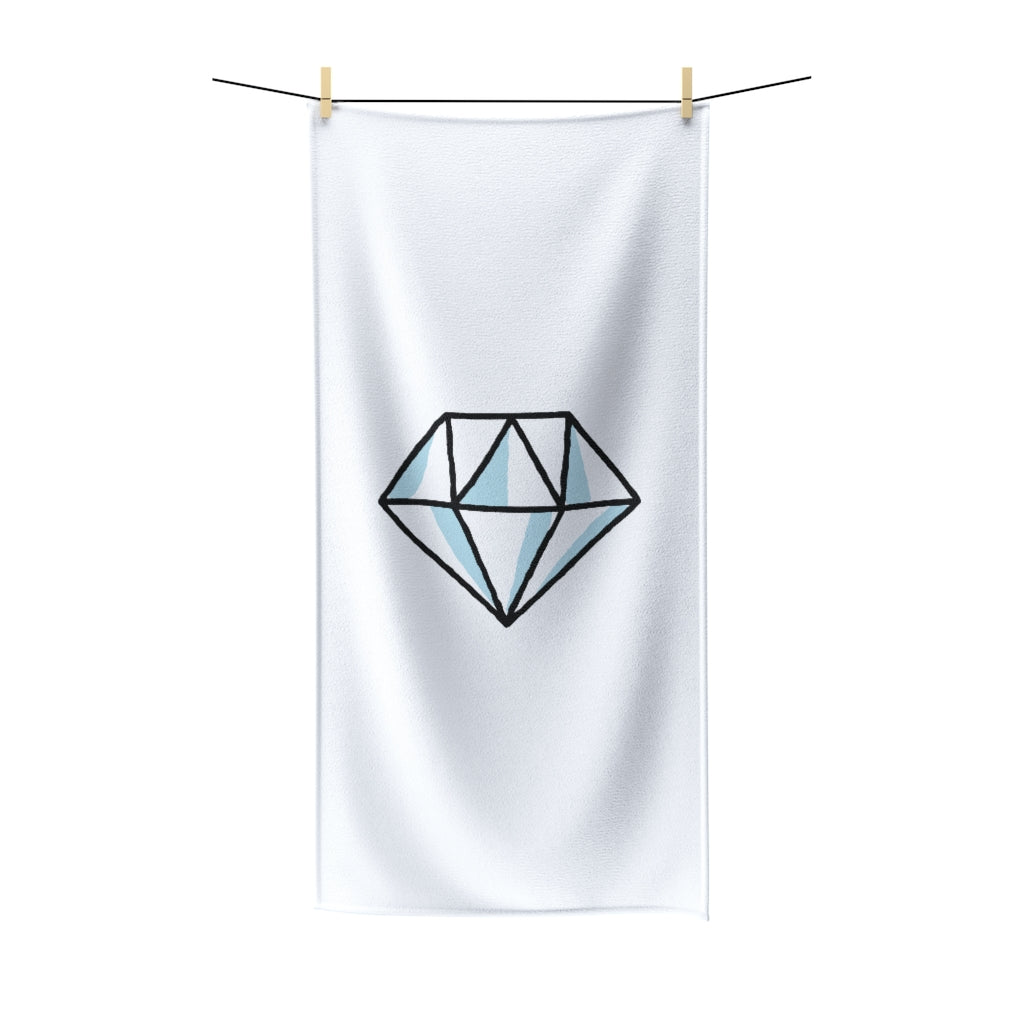 Blue Diamond Polycotton Towel