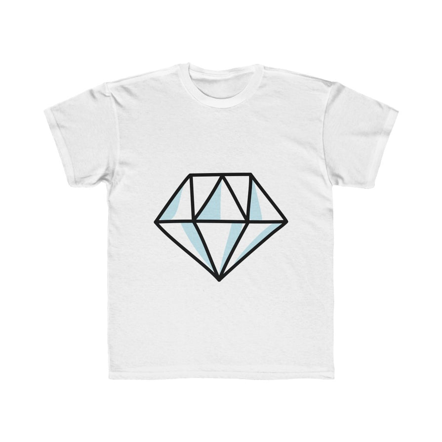 Blue Diamond Regular Fit Kids Tee