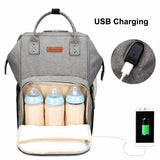 USB Boss Large Diaper Backpack