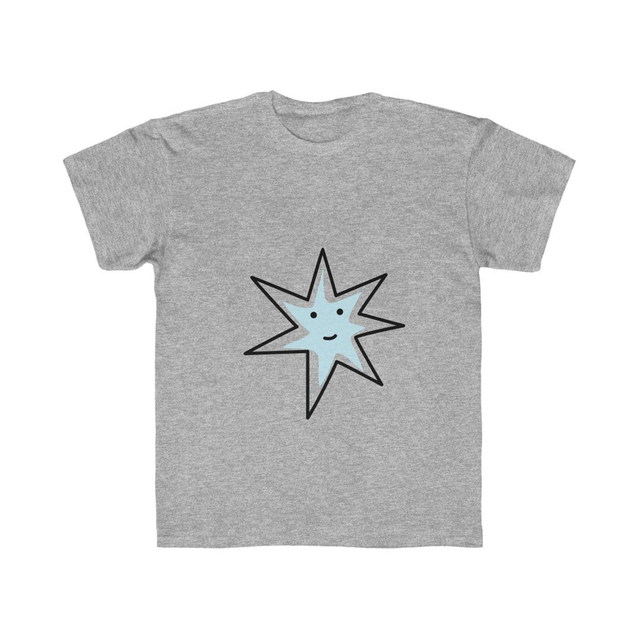 Blue Star Regular Fit Kids Tee