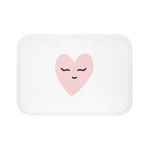 Pink Love Bath Mat