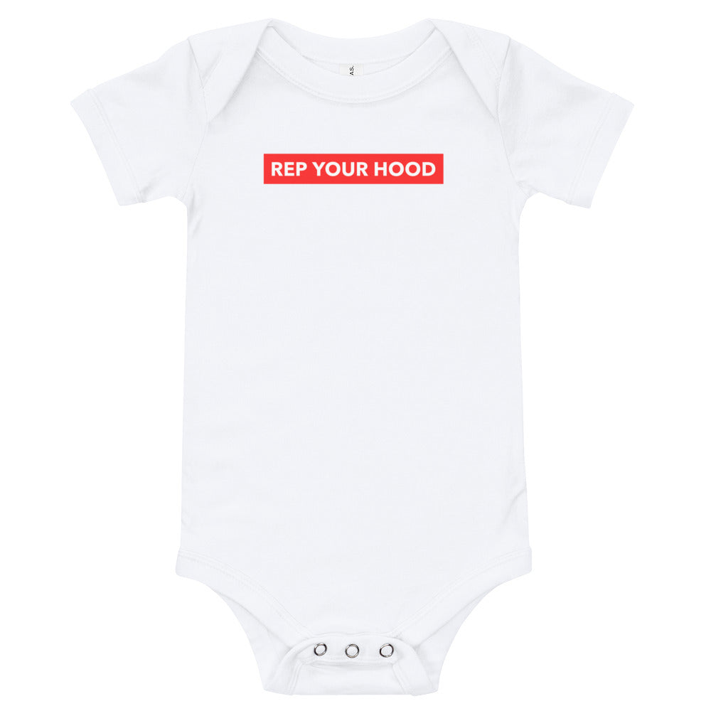 Rep Your Hood Baby Onesie - Mini Me