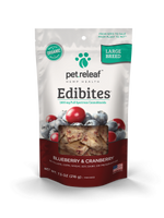 Large Breed CBD Hemp Oil Edibites – Blueberry Cranberry