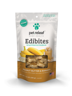 Peanut Butter Banana CBD Hemp Oil Edibites