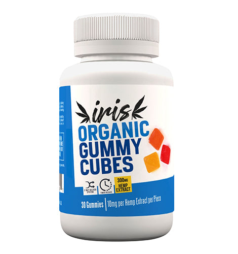NATURAL ORGANIC GUMMY CUBES 300MG