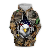 Newest USA eagle Hoodies Men/Women Sweatshirt JULY FOURTH Hooded United States America Independence Day Hoody 3D National ID001