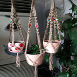 Natural fine hemp Plant Hanger