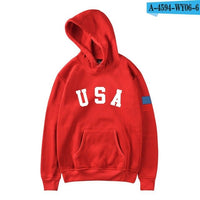 New USA Flag Hoodies Men/Women Sweatshirt JULY FOURTH Hooded United States America Independence Day Hoody