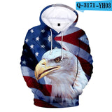 USA National Flag Hoodies 3D Design National Flag Hoodie Men/Women Sweatshirt Pullover 3D Hoodie Long Sleeve Harajuku Sweatshirt