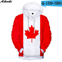 Aikooki New USA Hoodies Men/women Sweatshirt JULY FOURTH Hooded United States America Independence Day Hoody 3D National Flag