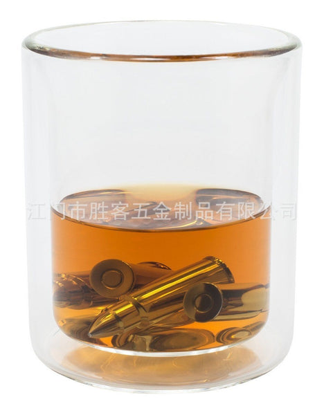 Stainless Steel Ice Cubes, Bullet Whisky Stone